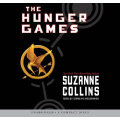 Hunger games audiobook!